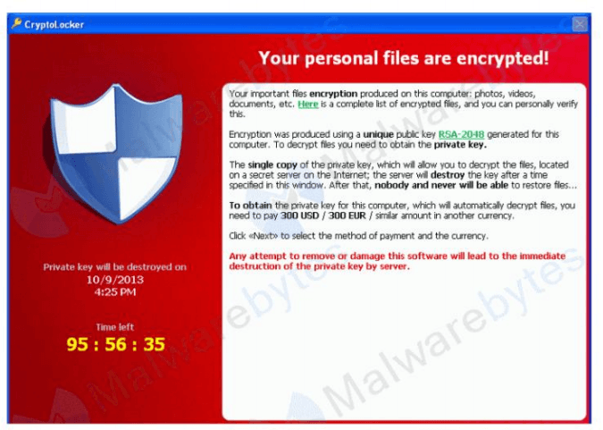 From Dec. 2015 until May 2016, Tescrypt was the most common ransomware variant detected by Microsoft.