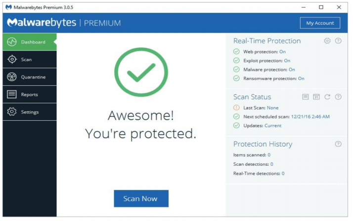 Anti-ransomware solutions like Malwarebytes are a reliable go-to for extra protection from unsavory software, but they're not foolproof.