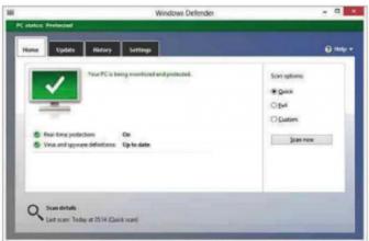 [Switch your antivirus] Microsoft Windows Defender