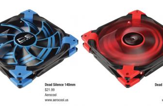 Aerocool Dead Silence 120mm/140mm Fans