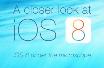 A closer look at iOS 8