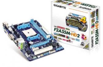 Gigabyte GA-F2A55M-HD2
