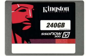 Kingston SSDNowV300 240GB. £70™