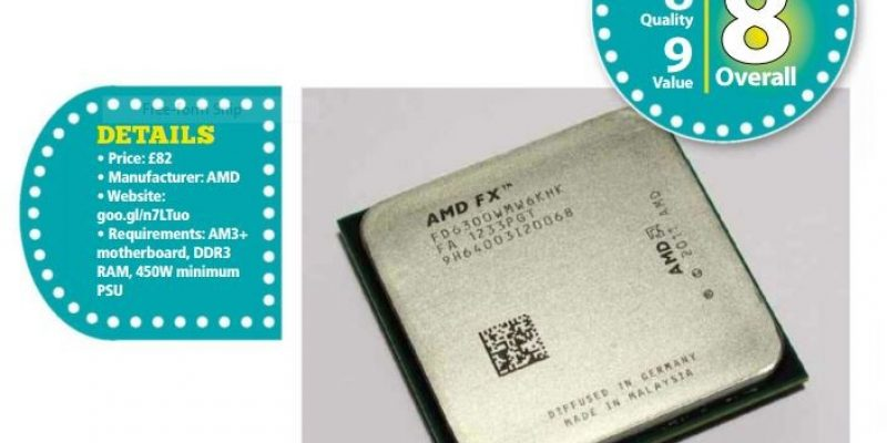 AMD FX-6300 3.5GHz review