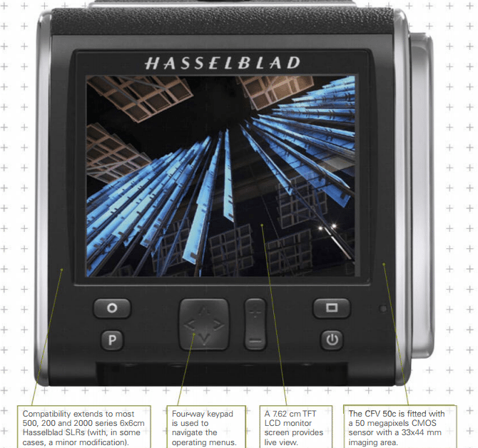 Hasselblad cfv-50 review - BACK TO FRONT | 7Review