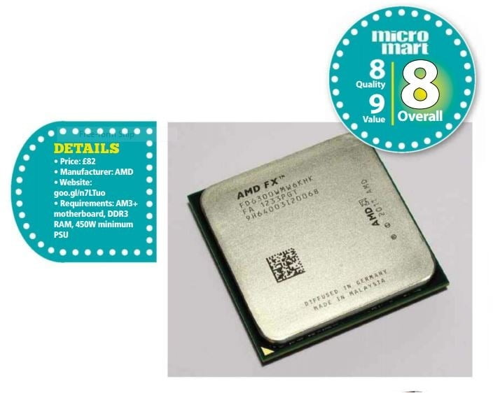AMD FX 6300 35GHz Review