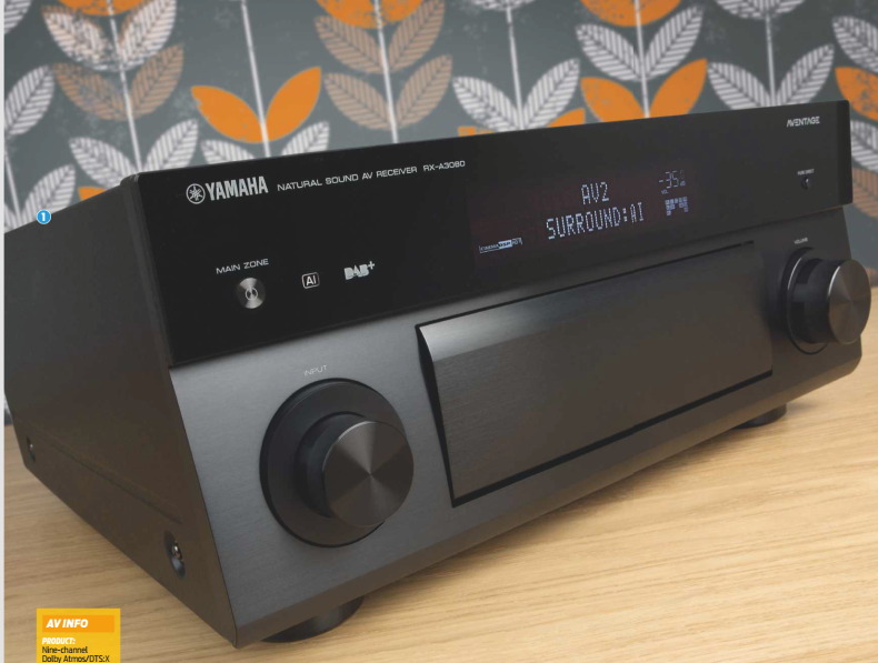 Yamaha Rx A3080 Review The Sound Of Ai Av 7review