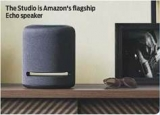 AMAZON ECHO STUDIO Review: Alexa listens up
