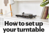 How to set up your turntable